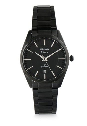 Alexandre Christie black Alexandre Christie Jam Tangan Wanita - Black - Stainless Steel - 8579 LDBIPBA EDAA5AC248E412GS_1