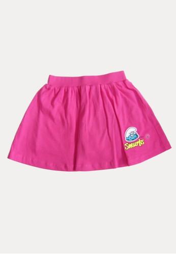Bossini pink Bossini Kids Girl Skirt Pinky Rose (04541601030) E6D8DKA7704FBCGS_1