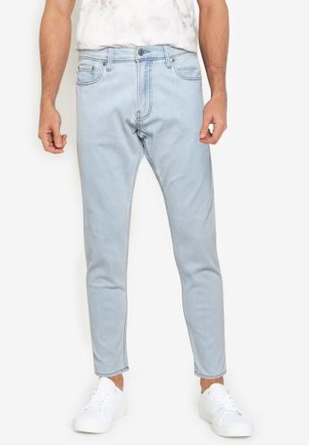 Hollister blue Taper Slim Jeans 48751AA1786A7CGS_1