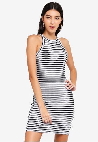 Supre multi High Neck Rib Mini Dress 6D2B5AA6D5491BGS_1
