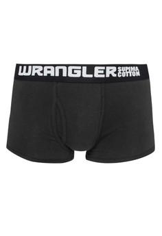Wrangler Men's Under Denim Boxer Brief (Licorice)