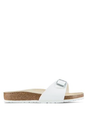 Birkenstock white Madrid Sandals BI090SH0SJ8RMY_1