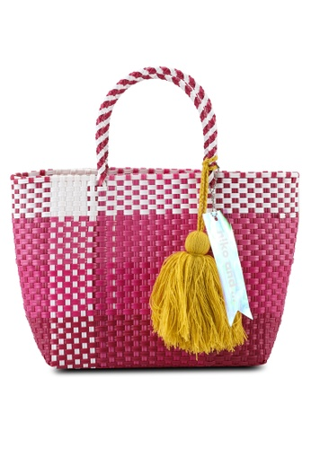 niko and ... pink Basket Bag 3ACD3AC96A4604GS_1
