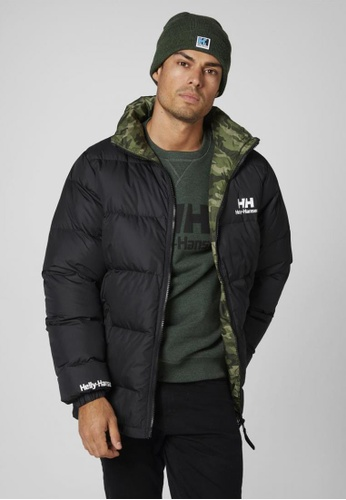 5f308733708d Buy Helly Hansen HH M REVERSIBLE DOWN JACKET BLACK Online on ZALORA ...