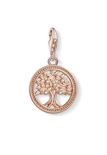 "THOMAS SABO gold Charm Pendant ""Tree Of Life"" BC52BAC9C02DE8GS_1"