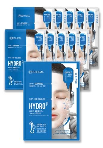 Mediheal blue Mediheal Capsule 100 Bio Seconderm (Hydro β) Mask Box 771A5BE3FC6390GS_1