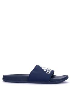 07fe857bd7ef adidas blue adidas adilette comfort sliders 07488SHB7DDB38GS 1