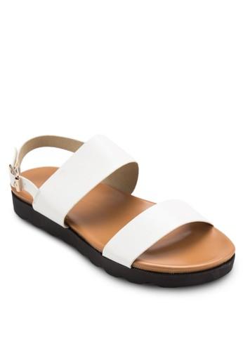 寬帶繞踝涼鞋, 女鞋, 涼esprit 羽絨外套鞋