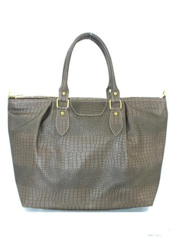 Vintage Paris grey Viola Shoulder Bag with Sling VI567AC32NJZPH_1