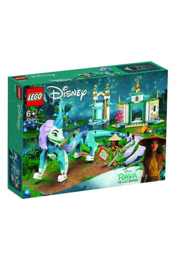 LEGO® multi Disney Princess 43184 Raya and Sisu Dragon, Age 6+, Building Blocks, 2021 (216pcs) A00B1KCEE591B9GS_1