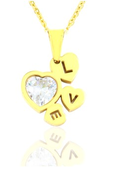 Love Plated Necklace