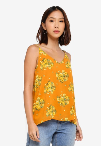 Cotton On orange and gold Astrid Cami Top 3CDDAAA8E931A1GS_1