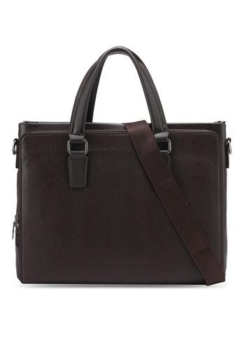 ZALORA brown Classic Tote Bag 4E751ZZ4250A7AGS_1
