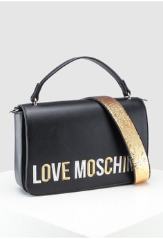 b578e17764 20% OFF Love Moschino Pebble Grain Shoulder Bag RM 1,239.00 NOW RM 989.00  Sizes One Size
