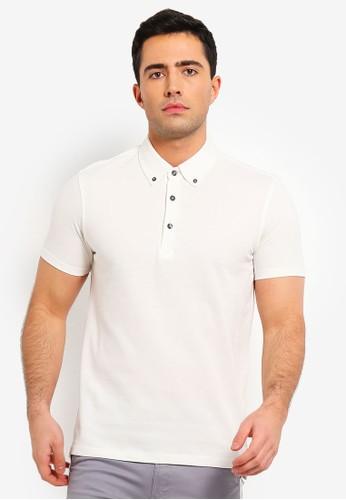 OVS white Basic Polo Shirt 1BC48AA11069C3GS_1