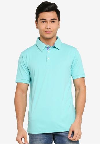 UniqTee green Loose Fit Polo Shirt 11AA9AA898FAA1GS_1