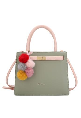 Wild Channel 綠色 Women's Hand Bag / Top Handle Bag / Sling Bag 9F08EAC7CC88DBGS_1