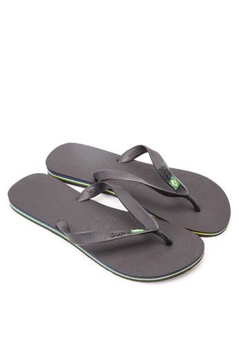 Dupe black Brasil Flip Flops DU626SH08VVRPH_1