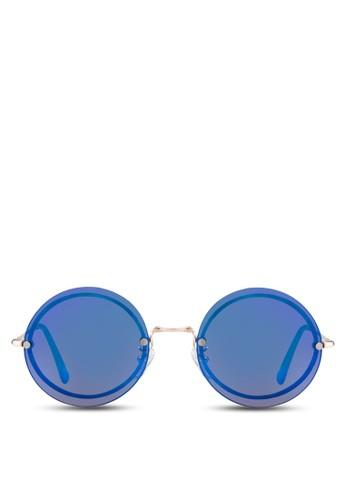 JP0118 復古風圓框太陽眼鏡, 飾品配esprit高雄門市件, 飾品配件