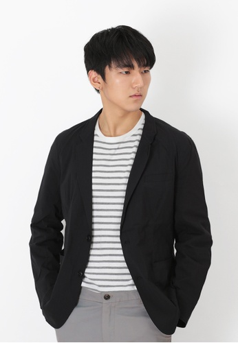 A for Arcade black Lightweight Sports Jacket in Black CA53DAA2E285C1GS_1
