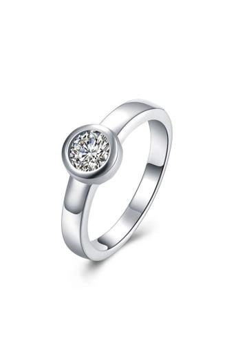 Tiaria white Tiaria Minimalist Daily Ring - Cincin Lapis Silver SPCR862-7--K09 13DEFACBC76784GS_1