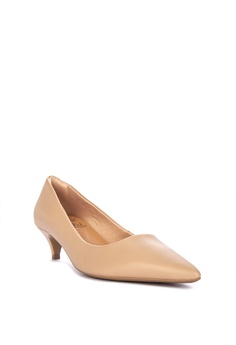 b1d1b1748d1d 10% OFF Malu Super Comfort Classic Low Pointed Heeled Pumps Comfort Shoes  Php 3
