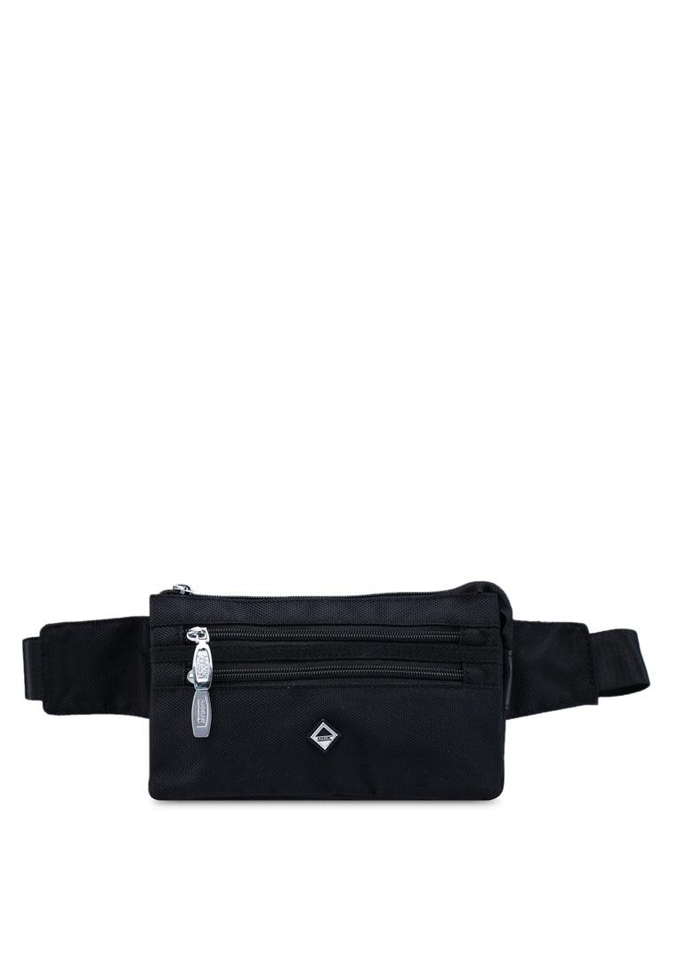 480c53b54 Friday Arrow Black Black Leather Bag Waist Faux qPOBYnHA ...