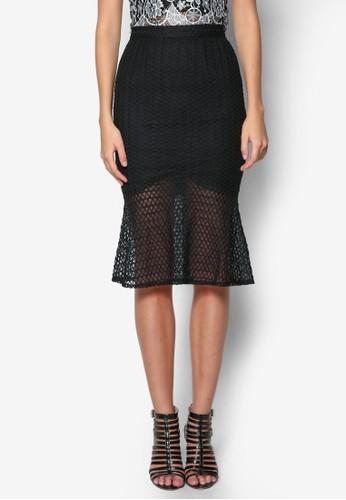Neptune 網眼魚尾短裙, esprit專櫃服飾, 裙子