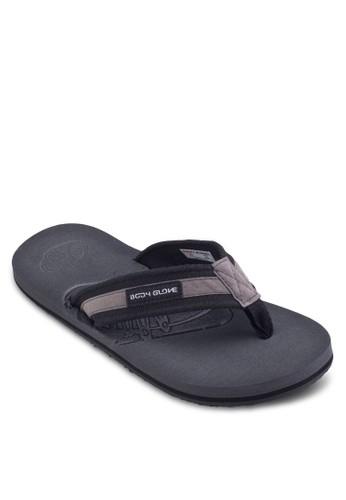 壓紋雙色夾腳拖鞋, 鞋zalora 鞋評價, 鞋