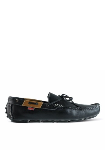 Sogno black Moccasin Shoes GF.4101 A7930SH02E25BAGS_1