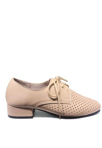Twenty Eight Shoes 柔軟透氣綁帶鞋 918-1 4ABBASHEE6071AGS_1