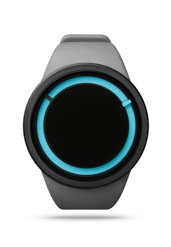 ZIIIRO black and grey and blue Eclipse Grey Watch 2DB99ACD0F4996GS_1