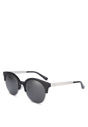 BLANC & ECLARE black Venice Sunglasses 814D4GLD6DBA80GS_1