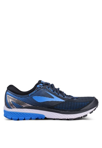 Brooks black Ghost 10 Shoes 1DEE2SH561E70CGS_1