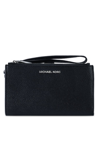 Michael Kors black Double Zip Wristlet (zt) 19CAAACA33B902GS_1