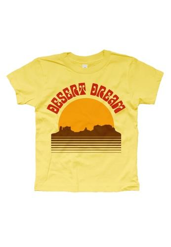 Ribbons+Wheels yellow Rivet Apparel Desert Dream Tee 72368KAEF3BA57GS_1