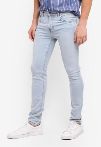 MANGO Man blue Slim-Fit Light Wash Jan Jeans AEF70AA1AB770BGS_1