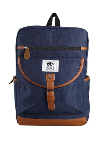 DNJ blue Jamie Laptop Backpack DN487AC0K7OGPH_1