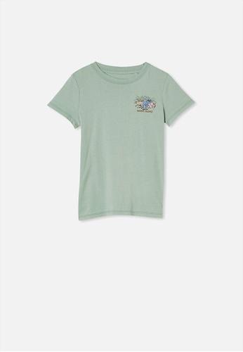 Cotton On Kids green Max Short Sleeve Tee 23F42KAD84B768GS_1