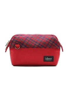 Selden Strawberry Mirrorless Tartan Check Camera Cross Bag