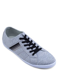 Jersey Lace Up Sneakers
