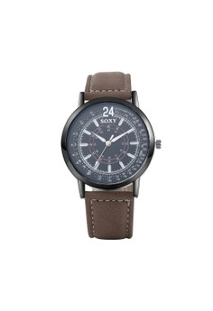 WH0049A Top Grade Quartz Business Man Watch Stainless Steel Metal Round Dial
