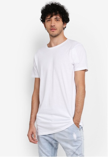 Cotton On white Essential Longline Tee CO372AA0SS9QMY_1