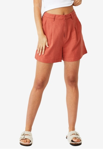 Cotton On red Ultimate Smart Shorts 898A3AA2EF60B6GS_1