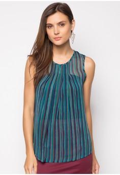 Blike Sleeveless Stripe Top