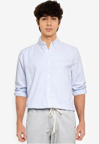 Hollister blue Emea Shirt 97322AA7CC6F18GS_1