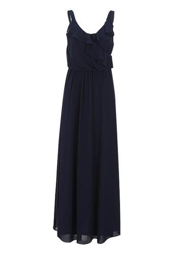 3a5d8fedf0 Buy CHAPS Chaps Ruffle Maxi Dress Online   ZALORA Malaysia