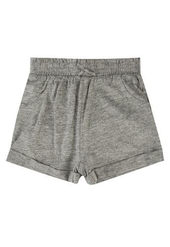 FOX Kids & Baby grey Turnover Shorts 19A82KA6C7DAD5GS_1