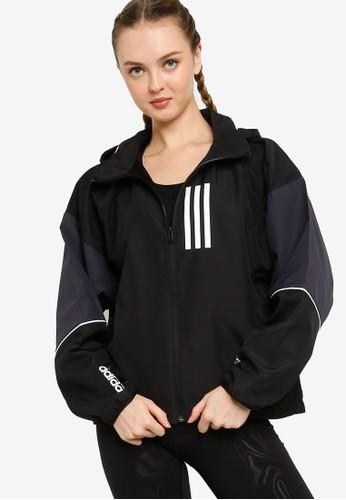 ADIDAS black w.n.d. jacket F4272AA7B700AFGS_1