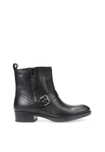 Geox black Felicity Abx Ankle Boots 158F5SH423D1EFGS_1